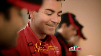 Papa John's Double Pepperoni and Bacon Pizza TV Spot [Spanish] - Thumbnail 2