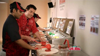 Papa John's Double Pepperoni and Bacon Pizza TV Spot [Spanish] - 4 commercial airings