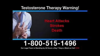Aaronson and Rash TV Spot, 'Testosterone Therapy Warning' - Thumbnail 3