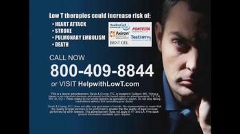 Davis & Crump, P.C. TV Spot, 'Low Testosterone' - Thumbnail 9