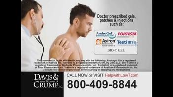 Davis & Crump, P.C. TV Spot, 'Low Testosterone' - Thumbnail 2