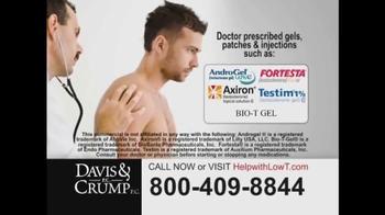Davis & Crump, P.C. TV Spot, 'Low Testosterone' - Thumbnail 3