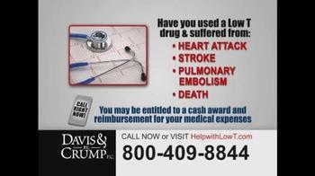 Davis & Crump, P.C. TV Spot, 'Low Testosterone' - Thumbnail 4