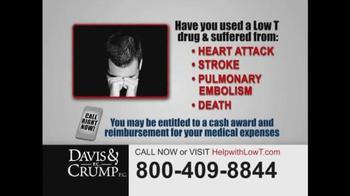 Davis & Crump, P.C. TV Spot, 'Low Testosterone' - Thumbnail 5