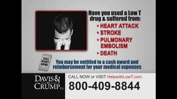 Davis & Crump, P.C. TV Spot, 'Low Testosterone' - Thumbnail 6