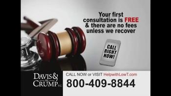 Davis & Crump, P.C. TV Spot, 'Low Testosterone' - Thumbnail 7