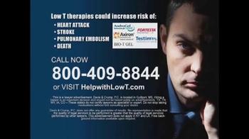 Davis & Crump, P.C. TV Spot, 'Low Testosterone' - Thumbnail 8