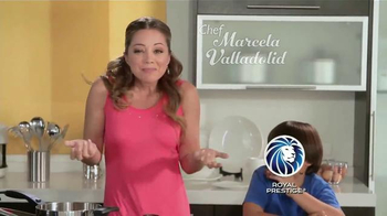 Royal Prestige Innove TV Spot Con Chef Marcela Valladolid [Spanish]