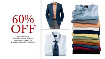 JoS. A. Bank TV Spot, 'Super Tuesday 60 Percent Off' - Thumbnail 3