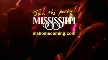 Visit Mississippi TV Spot, 'Homecoming' Song by Leo Welch