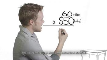 Liberty Tax Service TV Spot, 'Billion-Dollar Tax' - Thumbnail 5