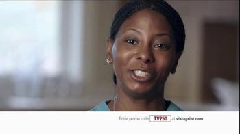 Vistaprint TV Spot, 'Shontai Thomas' - Thumbnail 8