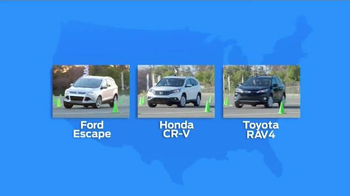 Ford EcoBoost Challenge TV Spot, 'Head-to-Head With the Escape' - Thumbnail 3