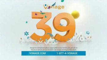 Vonage Nationwide Calling TV Spot, '39%'