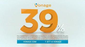 Vonage Nationwide Calling TV Spot, '39%' - Thumbnail 1