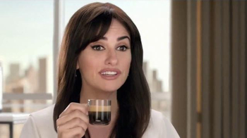 Nespresso VertuoLine TV Spot, 'What Else?' Featuring Penelope Cruz - 4352 commercial airings