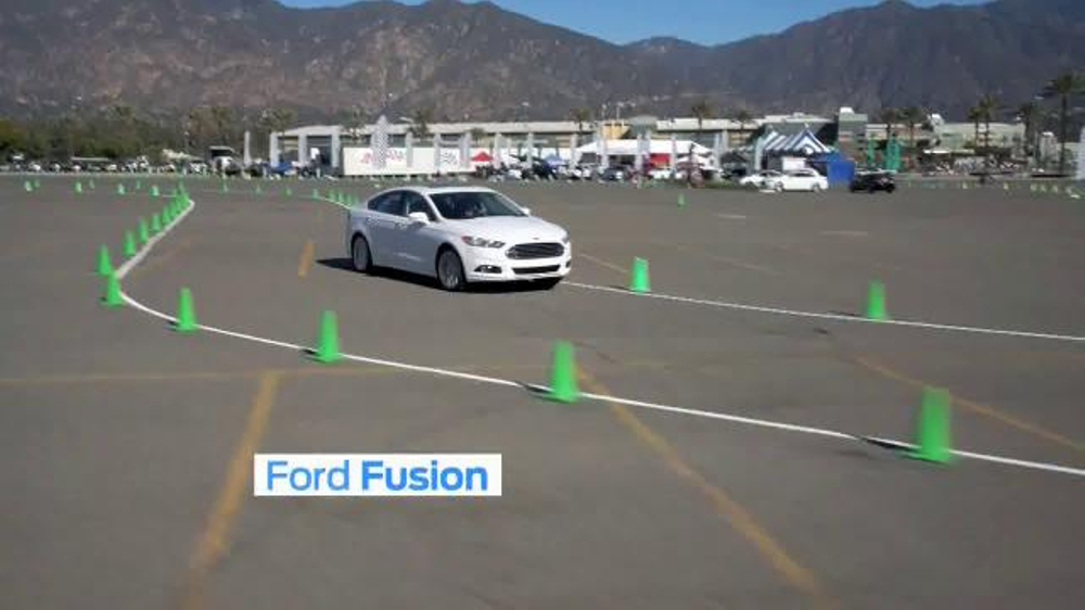 Ford EcoBoost Challenge TV Commercial, 'Head-to-Head With the Fusion'