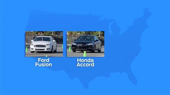 Ford EcoBoost Challenge TV Spot, 'Head-to-Head With the Fusion' - Thumbnail 3