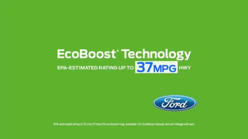Ford EcoBoost Challenge TV Spot, 'Head-to-Head With the Fusion' - Thumbnail 7