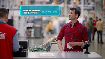 Chase Freedom TV Spot, 'Lowe's Video Game' - Thumbnail 4