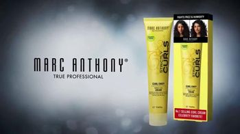 Marc Anthony Strictly Curls Curl Envy TV Spot - 16 commercial airings