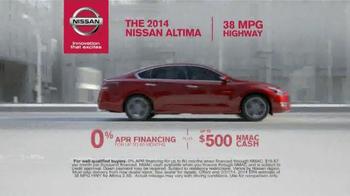 Nissan Now Event TV Spot, 'Altima Features' - Thumbnail 6