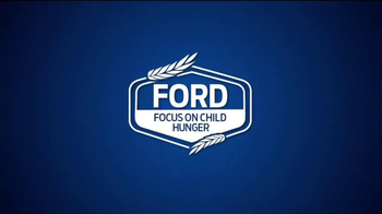 Ford Focus on Child Hunger TV Spot, 'Food Feeds Kids' - Thumbnail 1