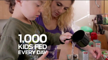 Ford Focus on Child Hunger TV Spot, 'Food Feeds Kids'