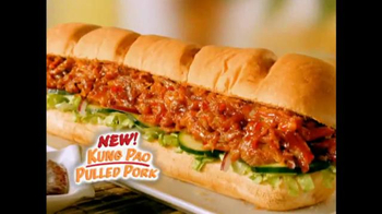 Subway Kung Pao Pulled Pork TV Spot - 441 commercial airings