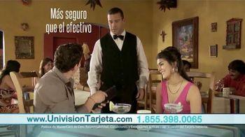 Univision Tarjeta TV Spot [Spanish]