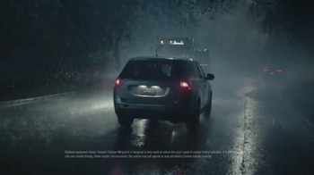 2014 Mitsubishi Outlander TV Spot, 'Rainy Delivery' - Thumbnail 4