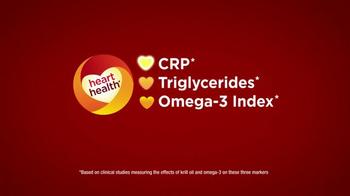 Mega Red Extra Strength TV Spot, 'Heart Health' - Thumbnail 6