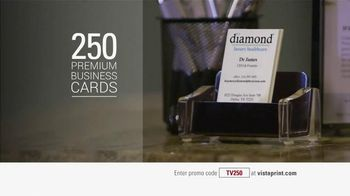 Vistaprint TV Spot, '250 Business Cards'