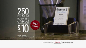 Vistaprint TV Spot, '250 Business Cards' - Thumbnail 10