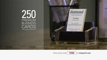 Vistaprint TV Spot, '250 Business Cards' - Thumbnail 9