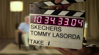 Skechers Relaxed Fit TV Spot, 'Relaxing' Featuring Tommy Lasorda - Thumbnail 1