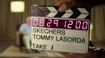 Skechers Relaxed Fit TV Spot, 'Relaxing' Featuring Tommy Lasorda - Thumbnail 2