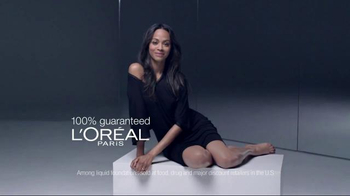 L'Oreal Paris True Match TV Spot Featuring Zoe Saldana