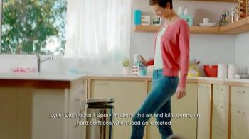 Lysol Disinfectant Spray TV Spot, 'Air Freshening' - Thumbnail 7
