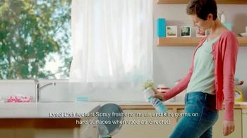 Lysol Disinfectant Spray TV Spot, 'Air Freshening' - Thumbnail 8