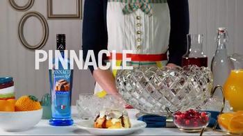 Pinnacle Vodka Cinnamon Roll TV Spot, 'Cinnabon Brunchy Punchy' - Thumbnail 1