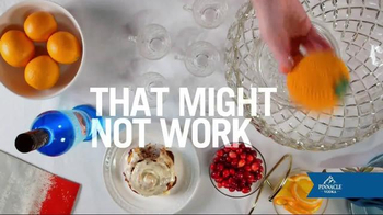 Pinnacle Vodka Cinnamon Roll TV Spot, 'Cinnabon Brunchy Punchy' - Thumbnail 4