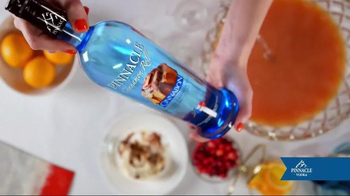 Pinnacle Vodka Cinnamon Roll TV Spot, 'Cinnabon Brunchy Punchy'