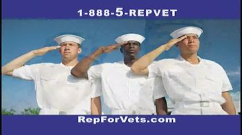 The Rep for Vets TV Spot, 'Thank You'