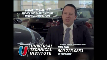 Universal Technical Institute (UTI) TV Spot, 'Technicians Needed' - Thumbnail 6