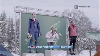 TD Ameritrade TV Spot Featuring Noelle Pikus-Pace - Thumbnail 1