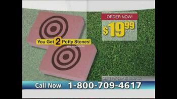 Bullseye Potty Stone TV Spot - Thumbnail 9