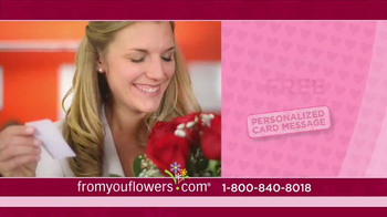 FromYouFlowers.com TV Spot, 'Valentine's Day Roses' - Thumbnail 9