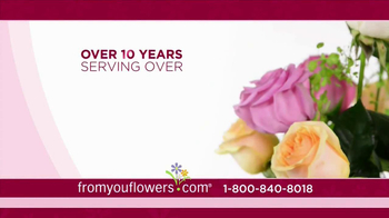 FromYouFlowers.com TV Spot, 'Valentine's Day Roses' - Thumbnail 2