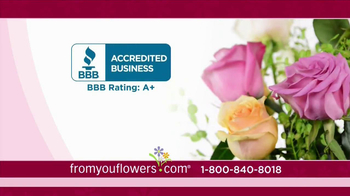 FromYouFlowers.com TV Spot, 'Valentine's Day Roses' - Thumbnail 3